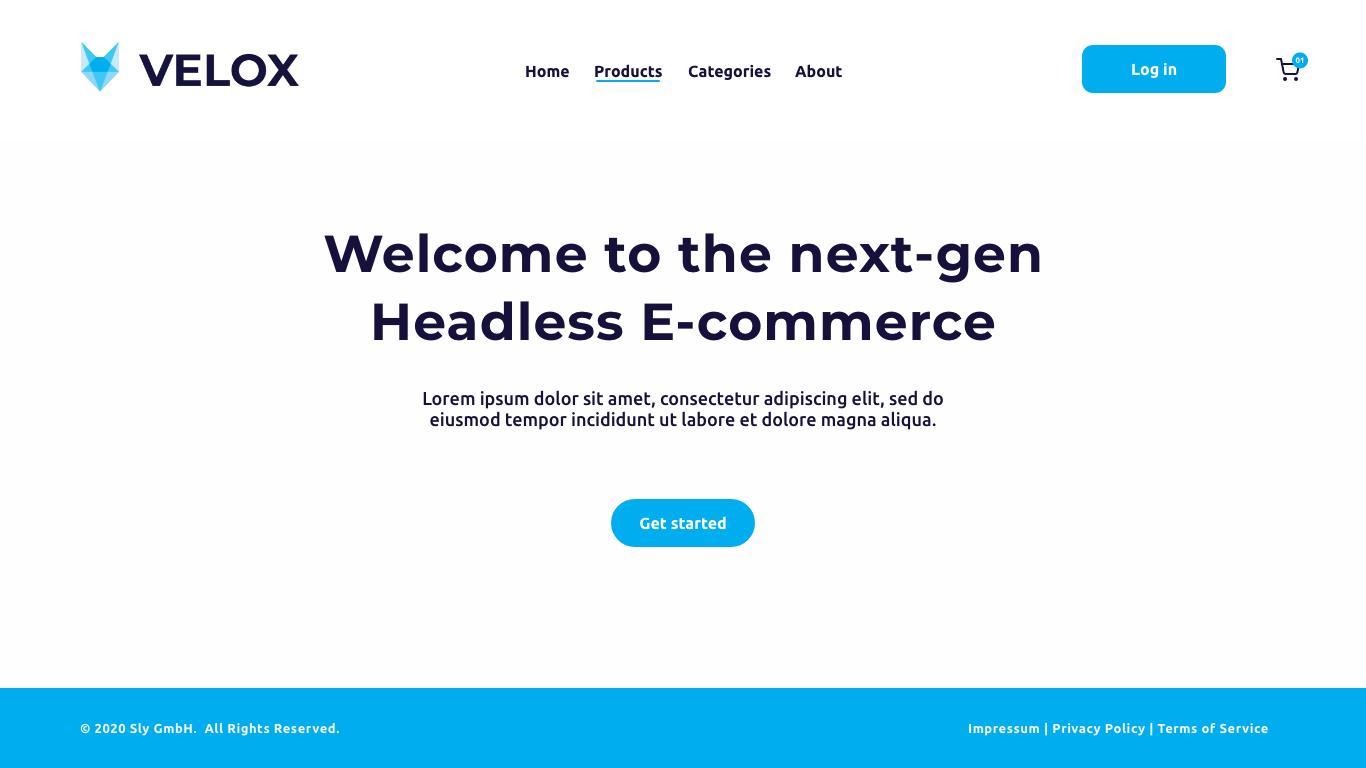 velox opensource headless ecommerce