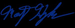 Marty Hughes Signature