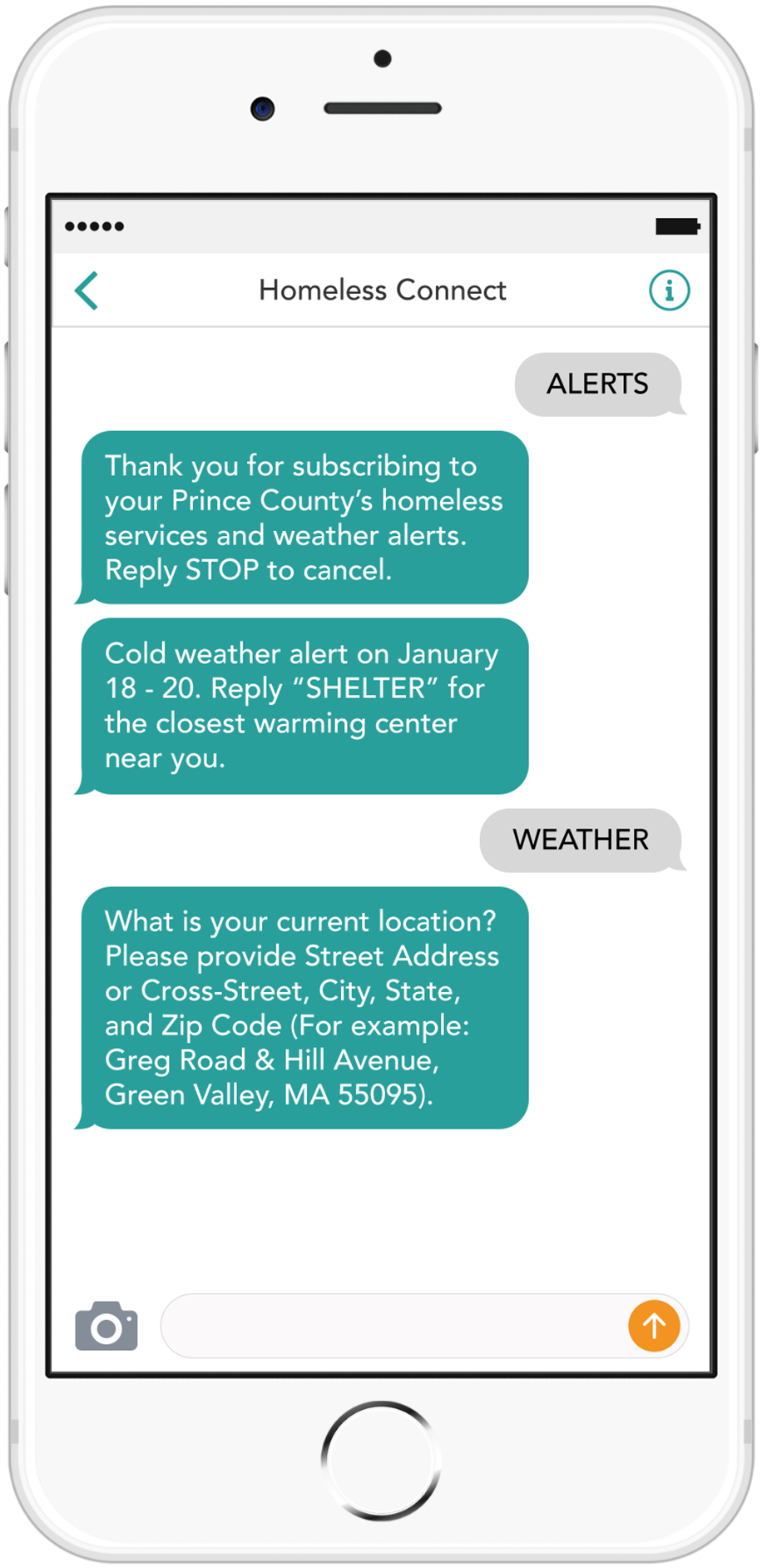 Text reminder campaign