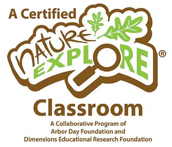 certified nature explore classroom logo