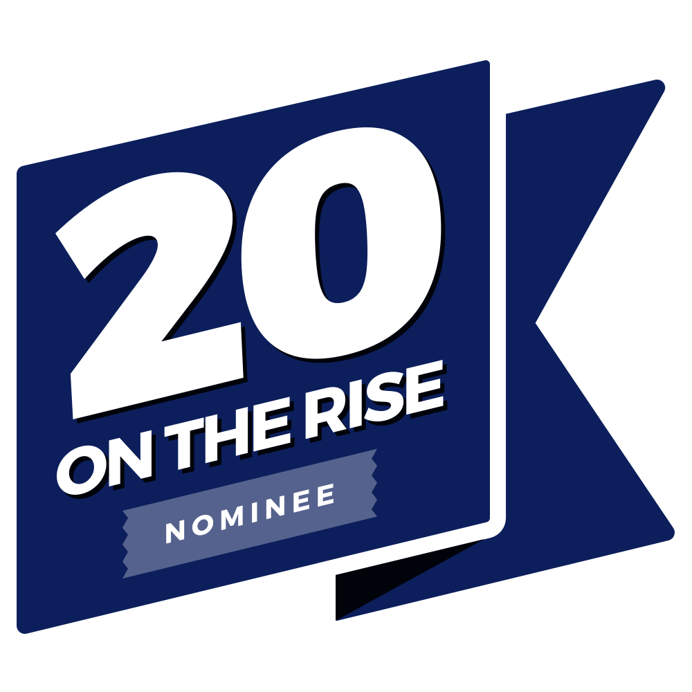 Honeybook 20 on the Rise Logo