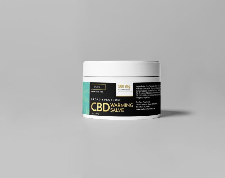 Pheelosophy - TruRx CBD Warming Salve Label Product Design