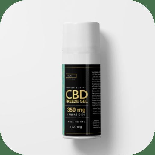 Pheelosophy - TruRx CBD Freeze Gel Label Product Design