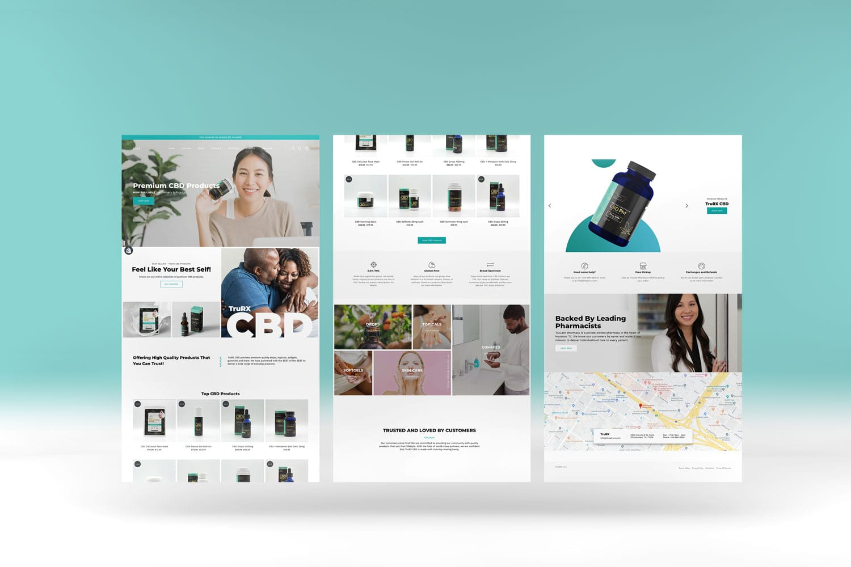 Pheelosophy - TruRx CBD Shopify Website Design