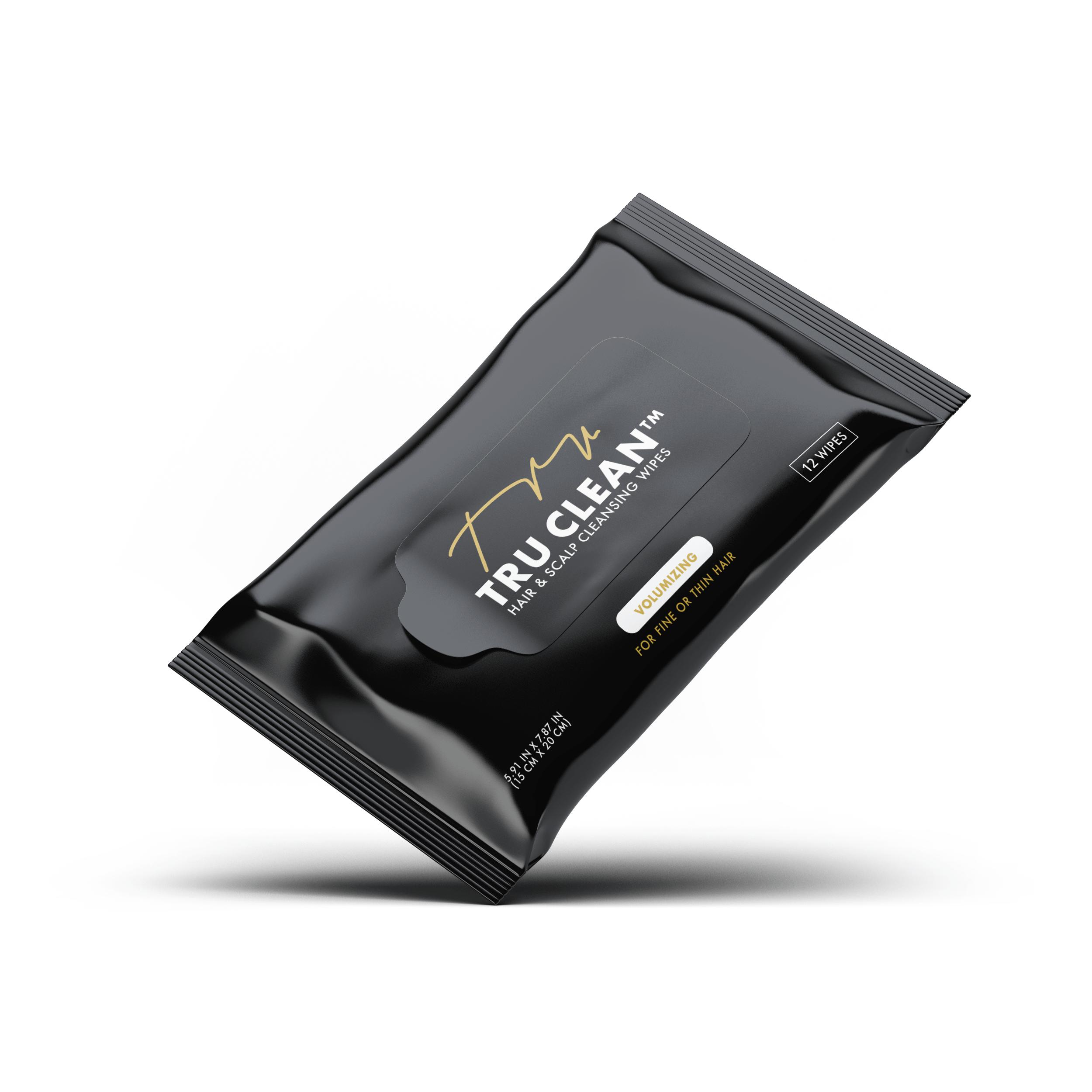 Pheelosophy - Tru Clean Volumizing Wipes Packaging Design