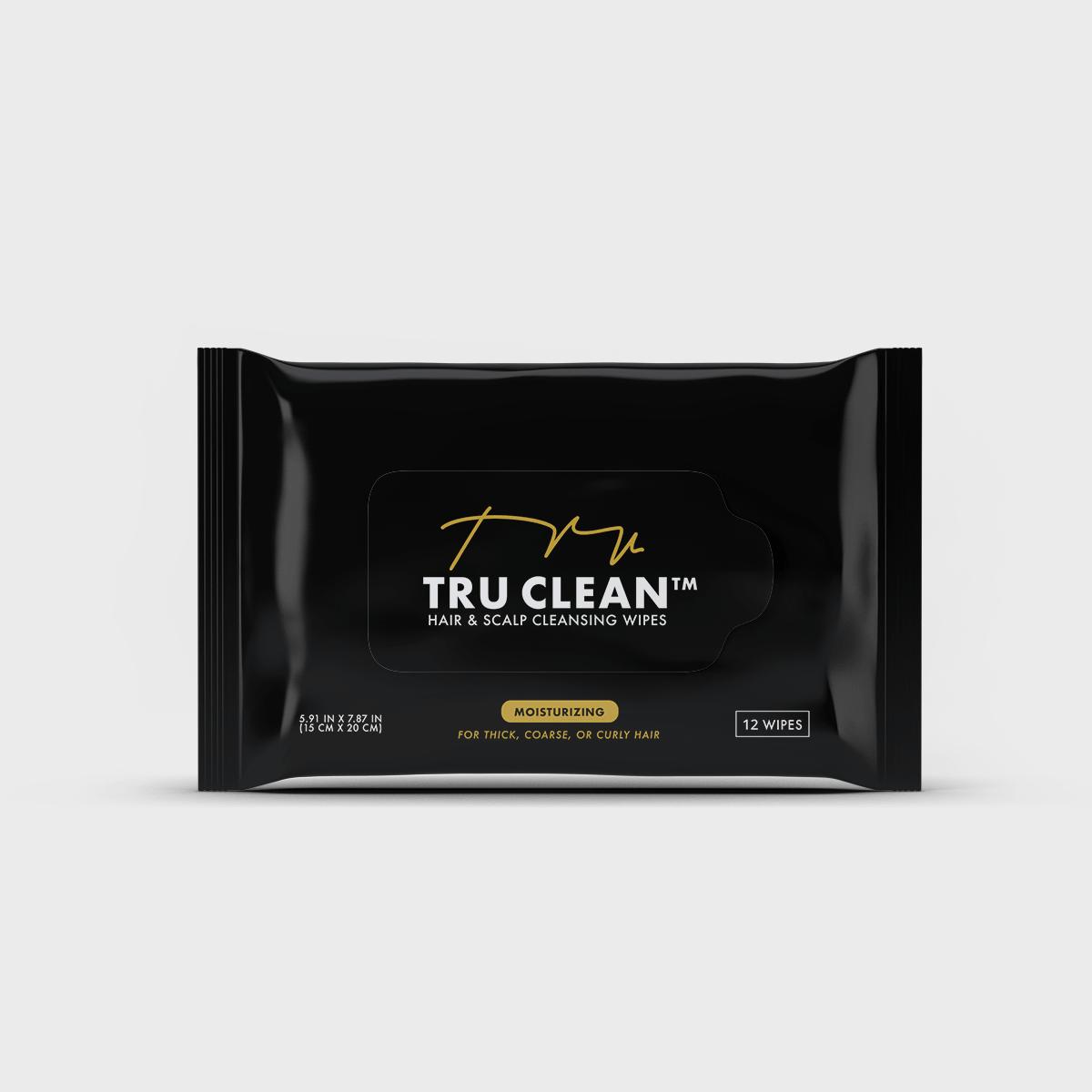 Pheelosophy - Tru Clean Moisturizing Wipes Packaging Design