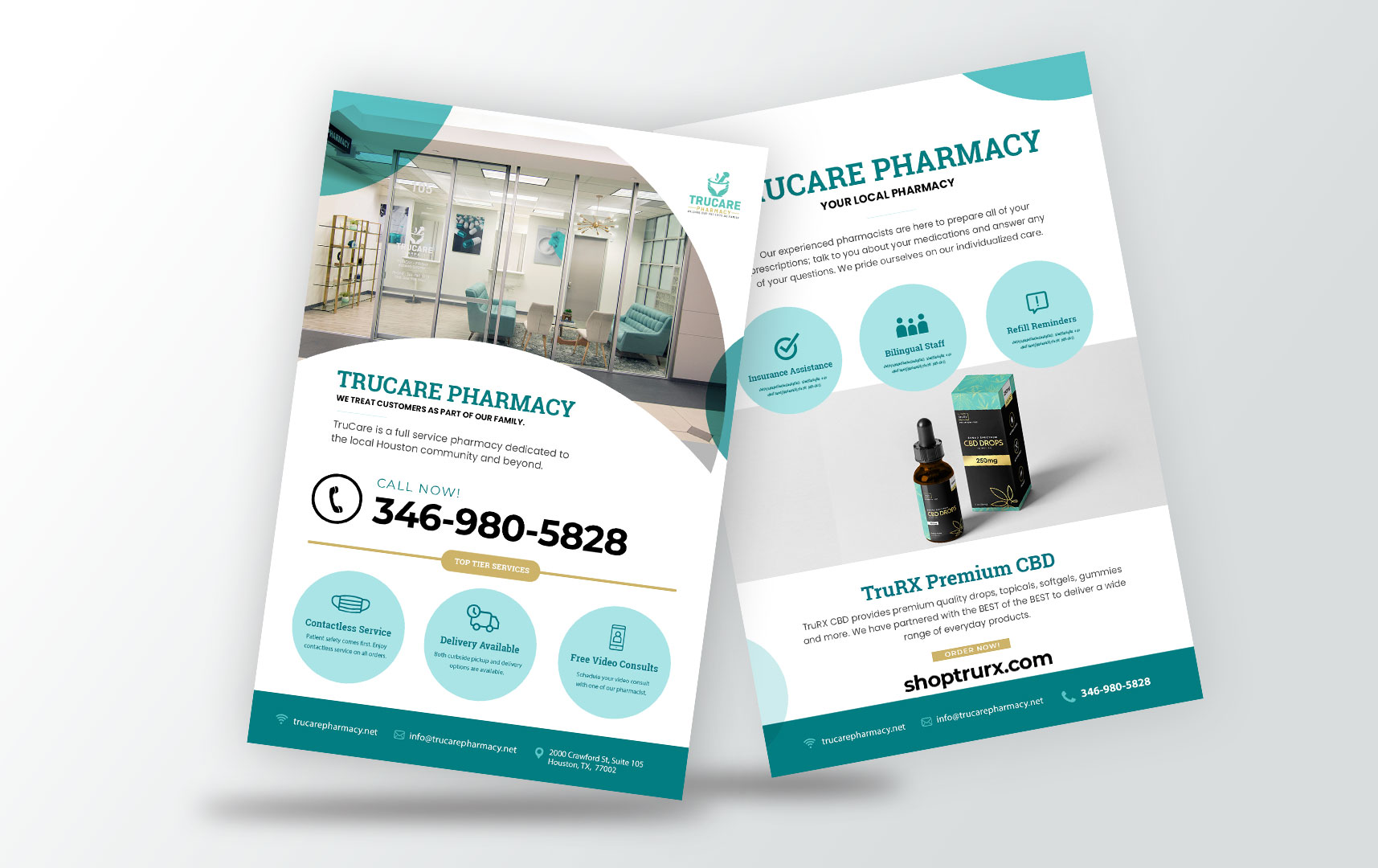 Pheelosophy Trucare Pharmacy Houston Texas Flyer