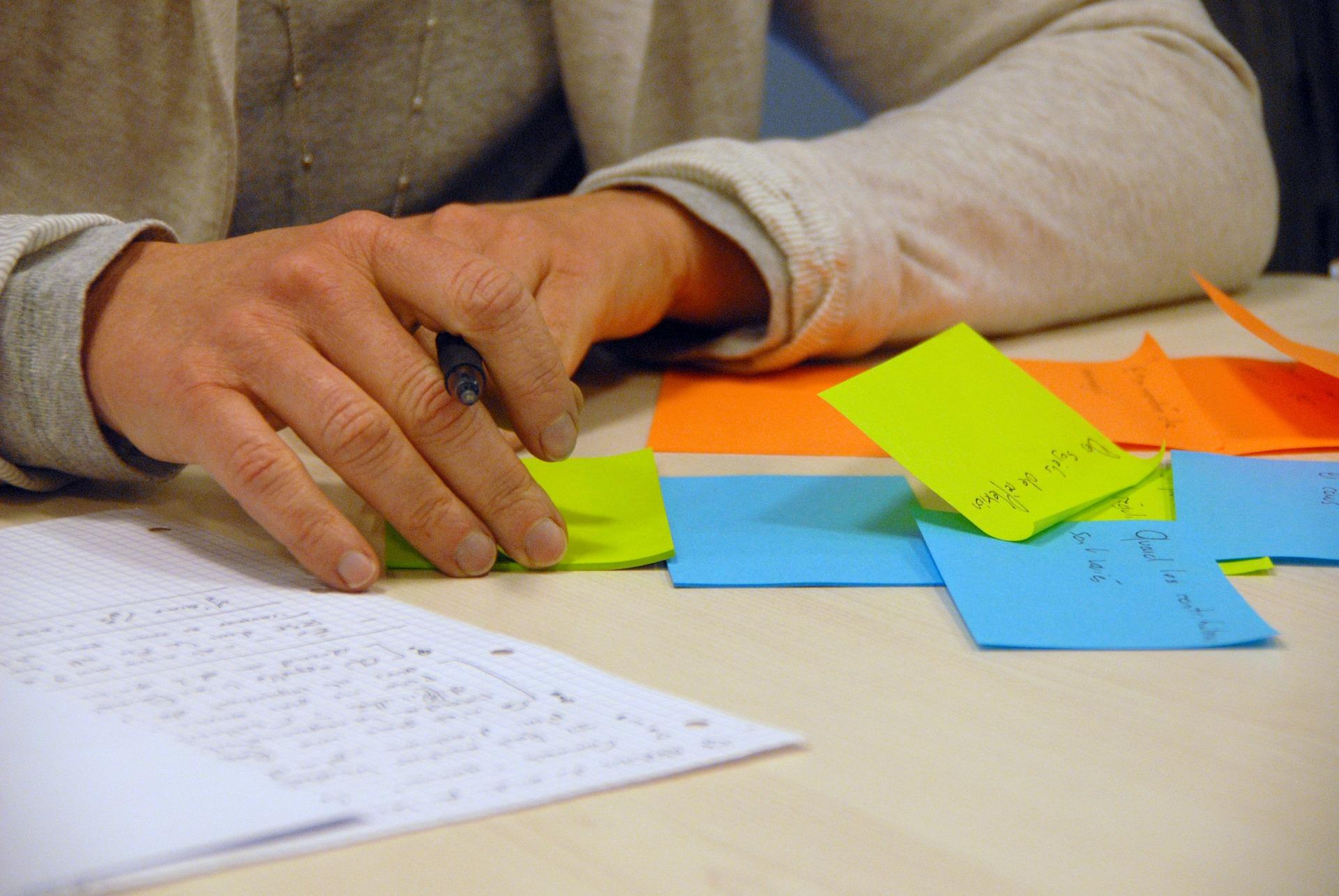 Refletir, brainstorming, líder, profissional