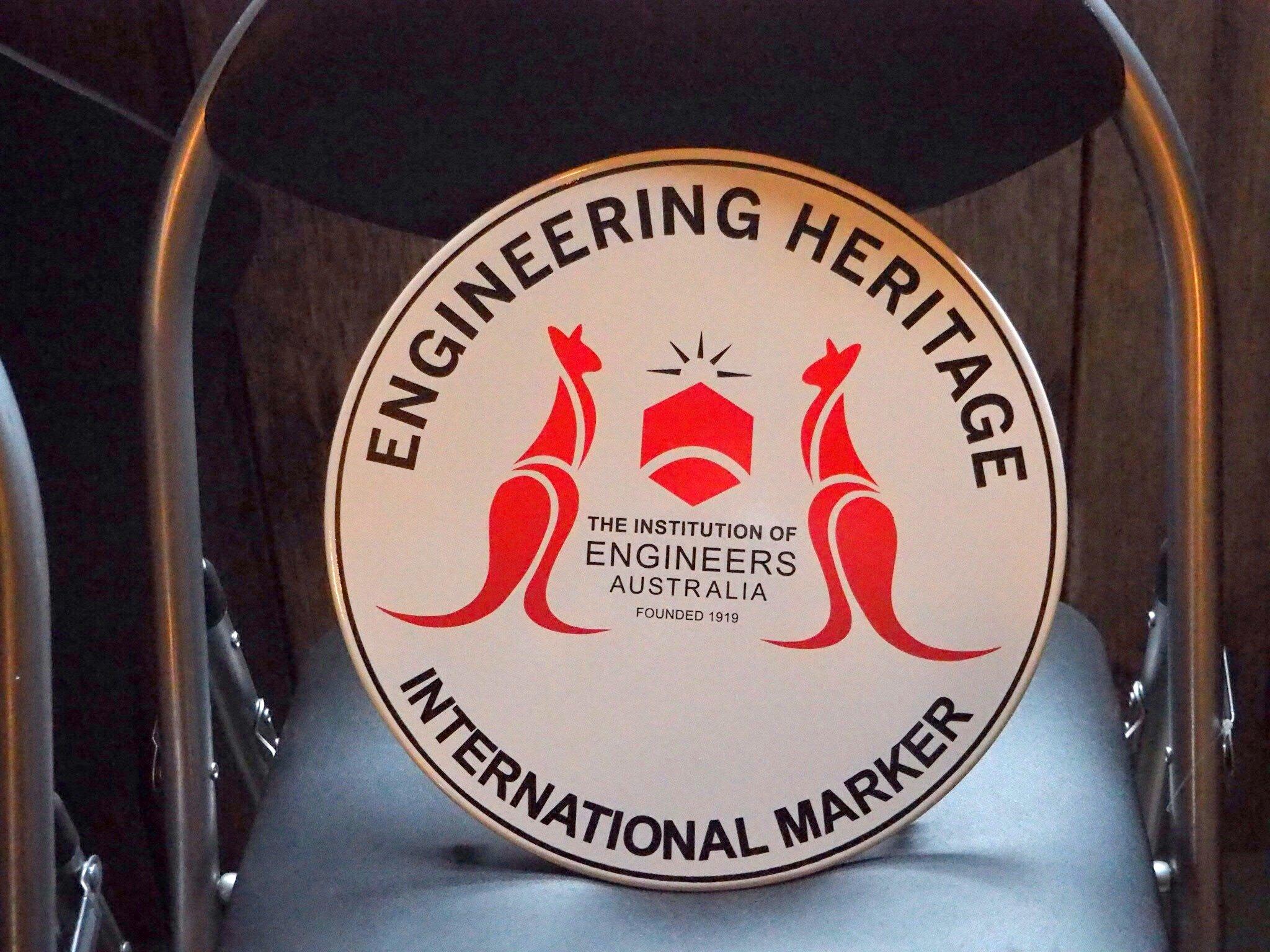 Engineering Heritage International Marker