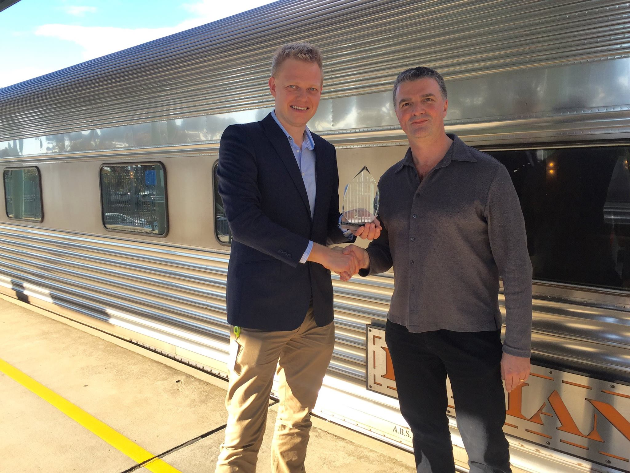 Charimans Club award for Great Trains