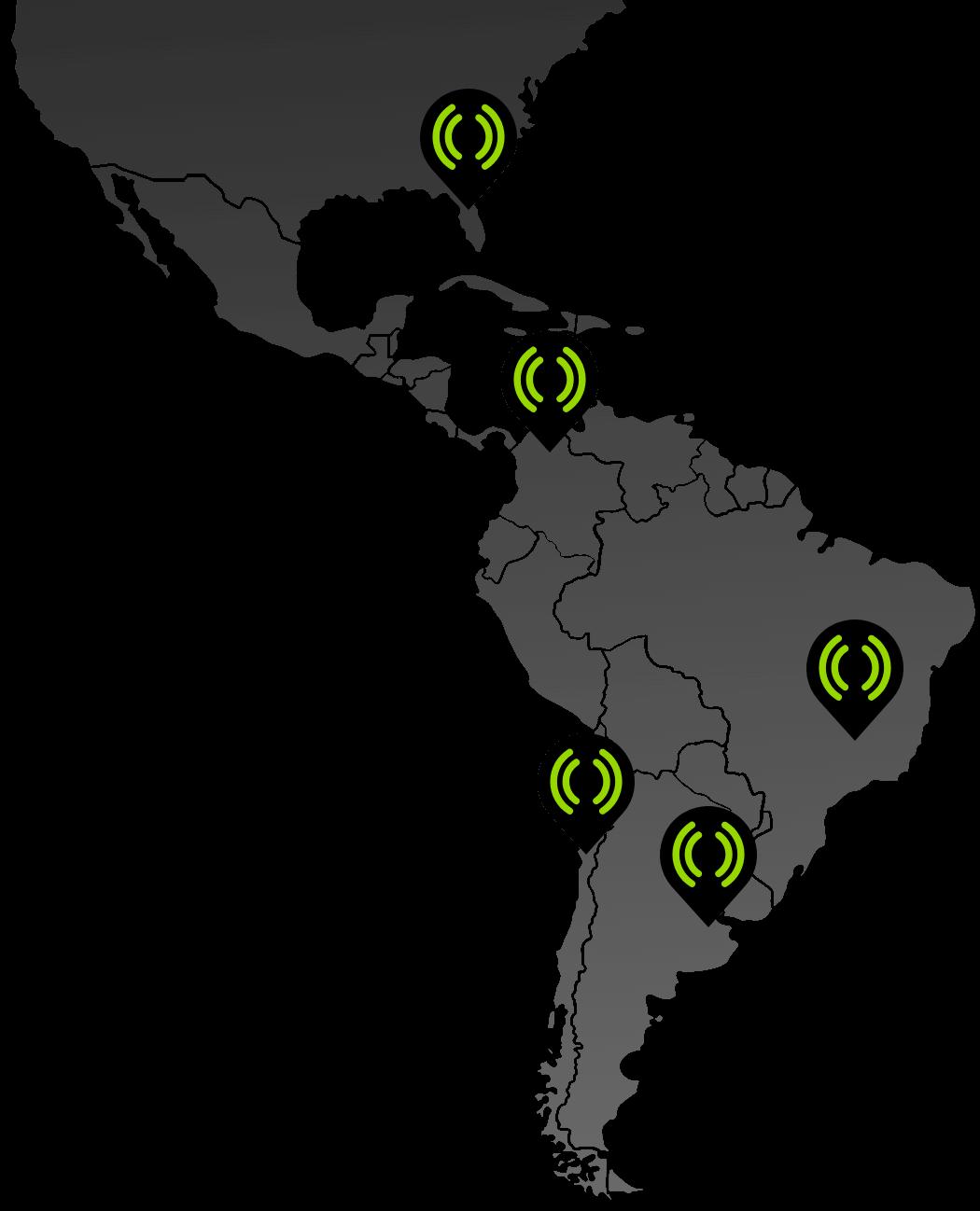 Mediastream's offices map