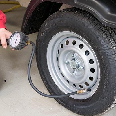 Pumpning af dæk step 4