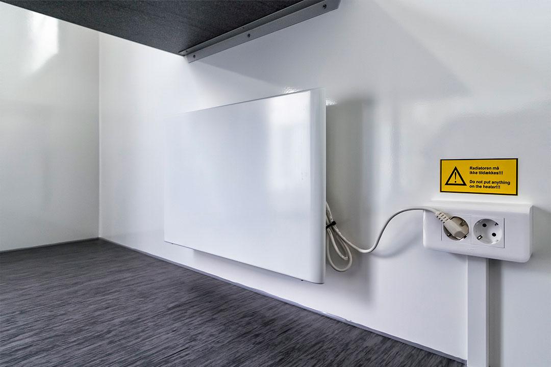 Scanvogn kontorvogn radiator