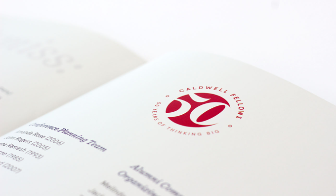 stylistic image of fiftieth anniversary logo.