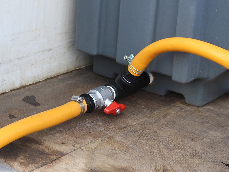 "1"" Manual drain valve assembly"
