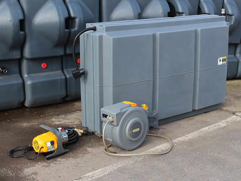 MTT + rainwater kit, pump and reel