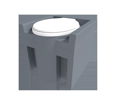 Commode Tank - Non-flush