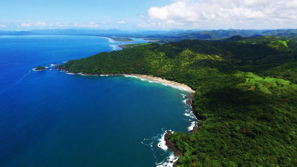View of Azur Panama coastline