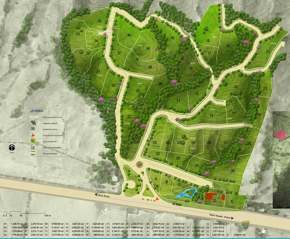 Azur luxury eco-development masterplan