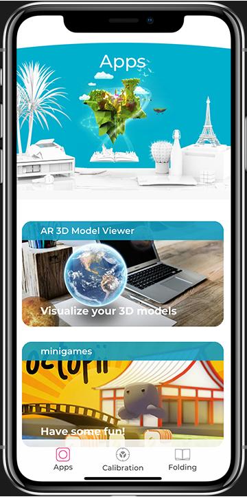 Aryzon AR APP Homepage