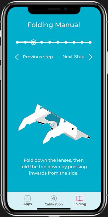 Aryzon AR App Folding Manual