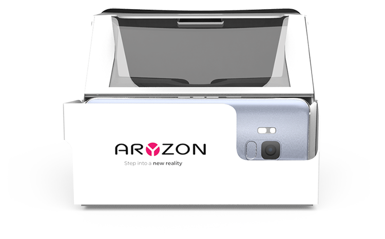 The Aryzon headset
