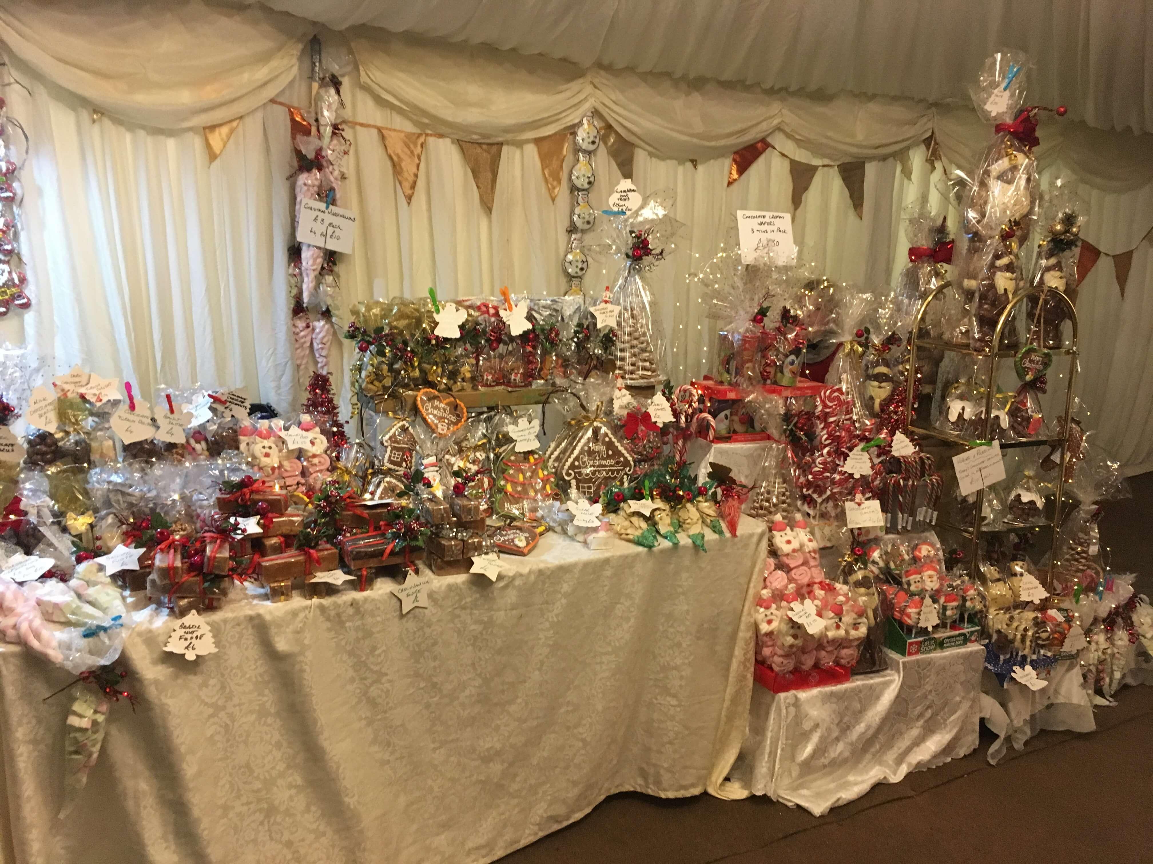 Christmas Stall at Beaufort Christmas  Fair