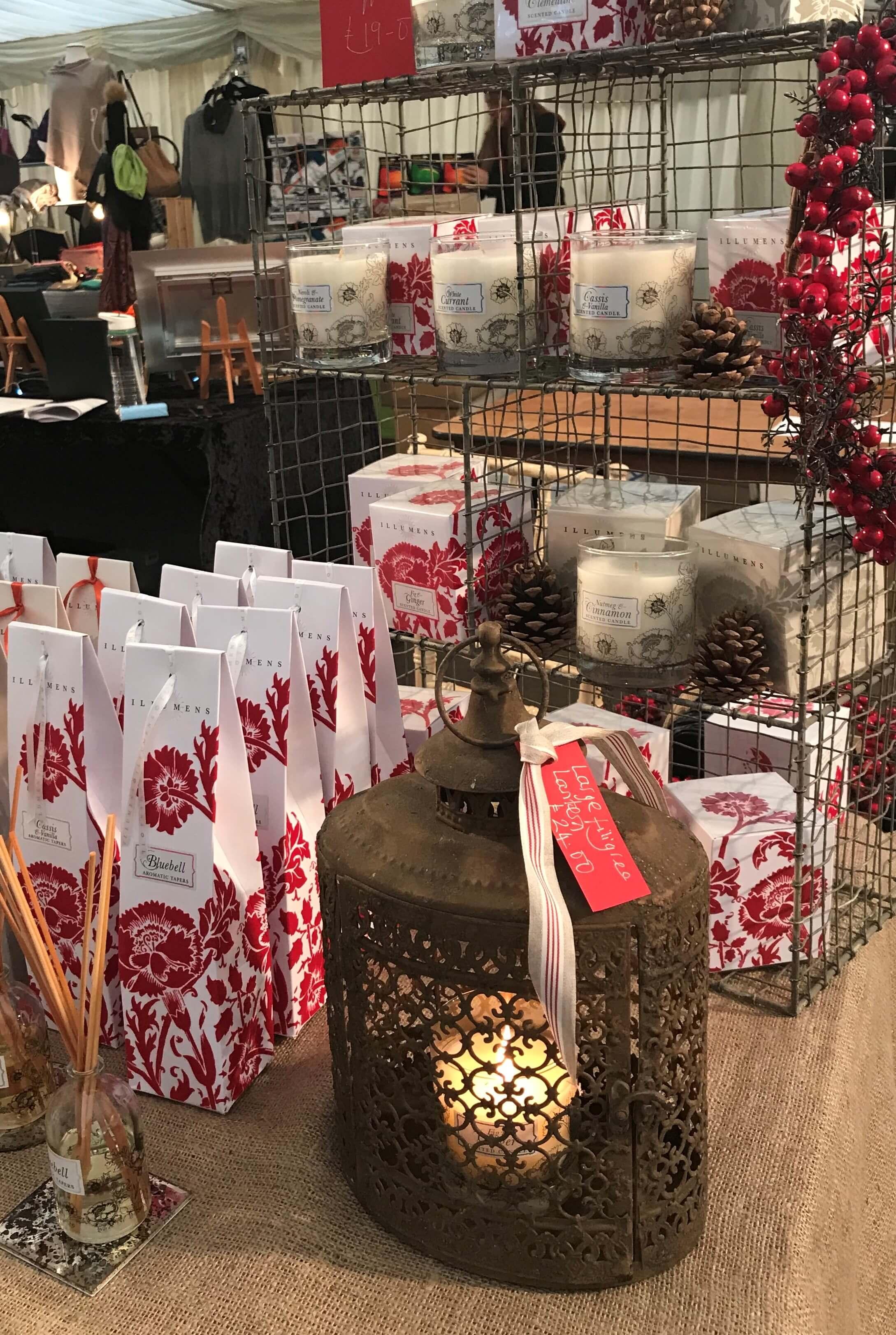 At the Beaufort Christmas Fair 2018