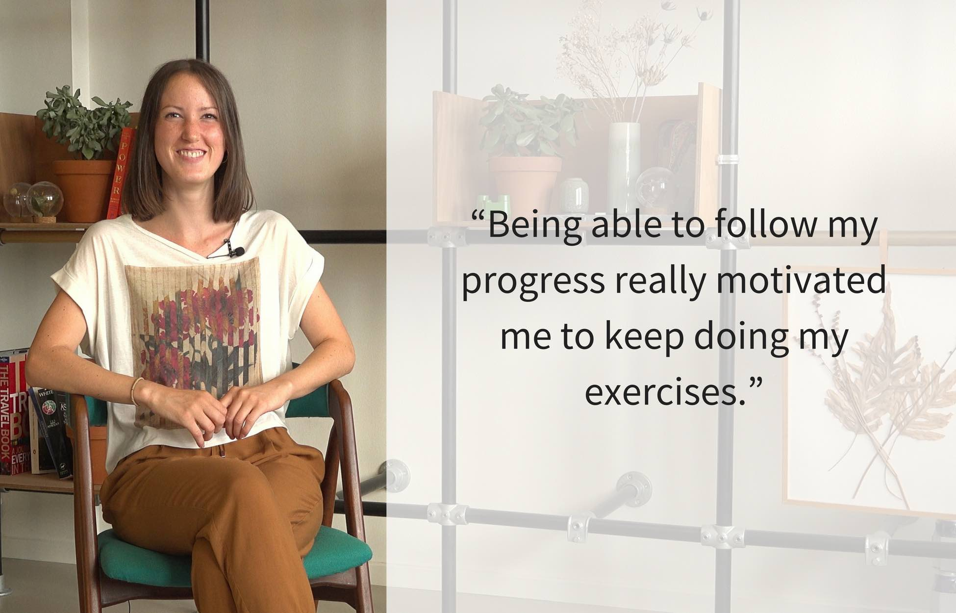 Photo of Reach user Veronica with her motivational quote