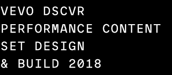 DSCVR 2018 Set Design & Build