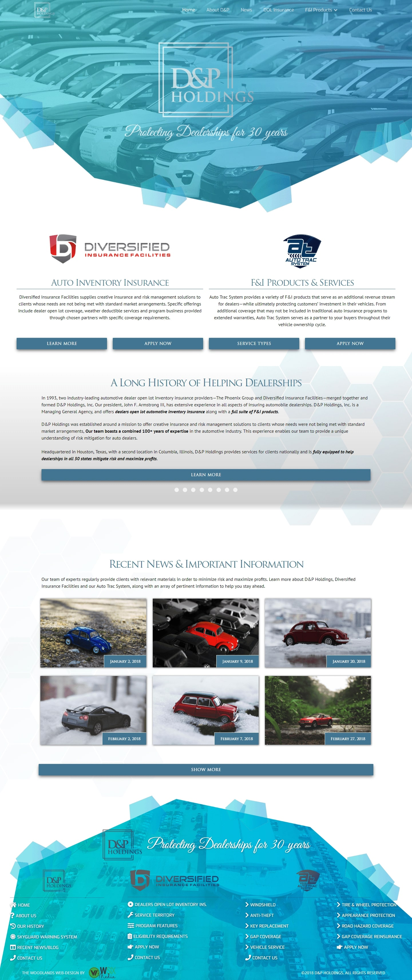 DIFTX The Woodlands Web Design Page