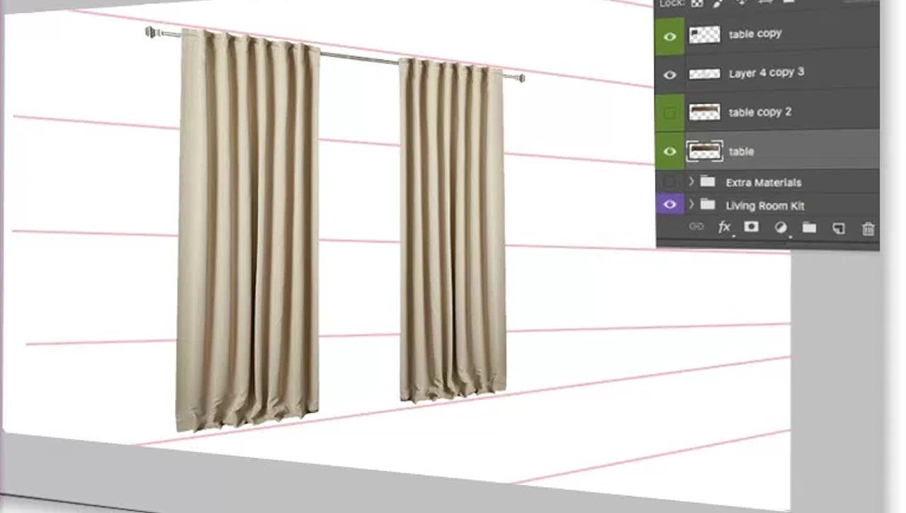 Placing Curtains Into Perspective