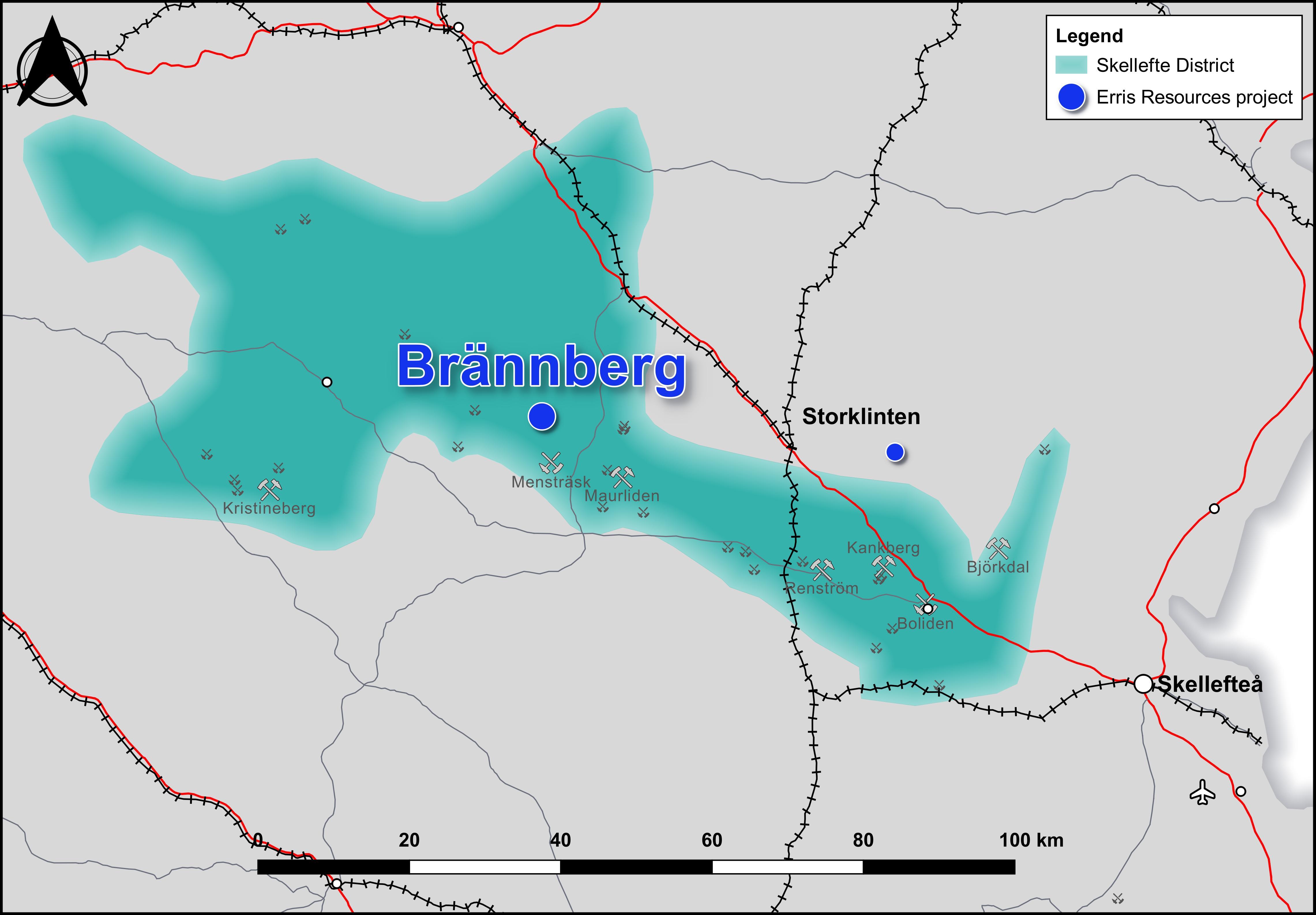 Brannberg Map