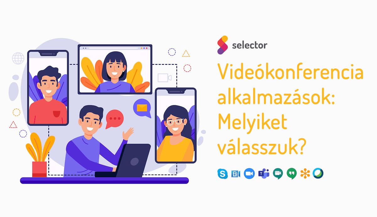 Melyik videokonferencia alkalmazást válasszuk?
