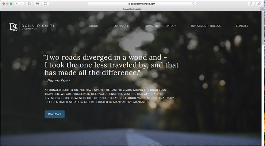 Emerson Ward Website Design