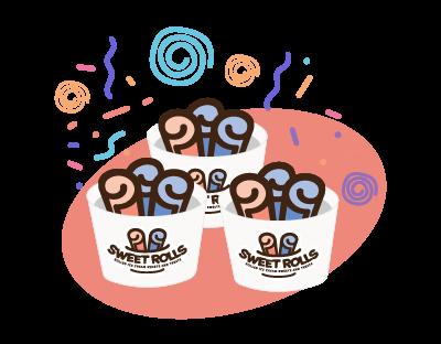 Sweet Rolls Opening Soon