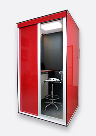 Single Premium Privacy Phone Booth