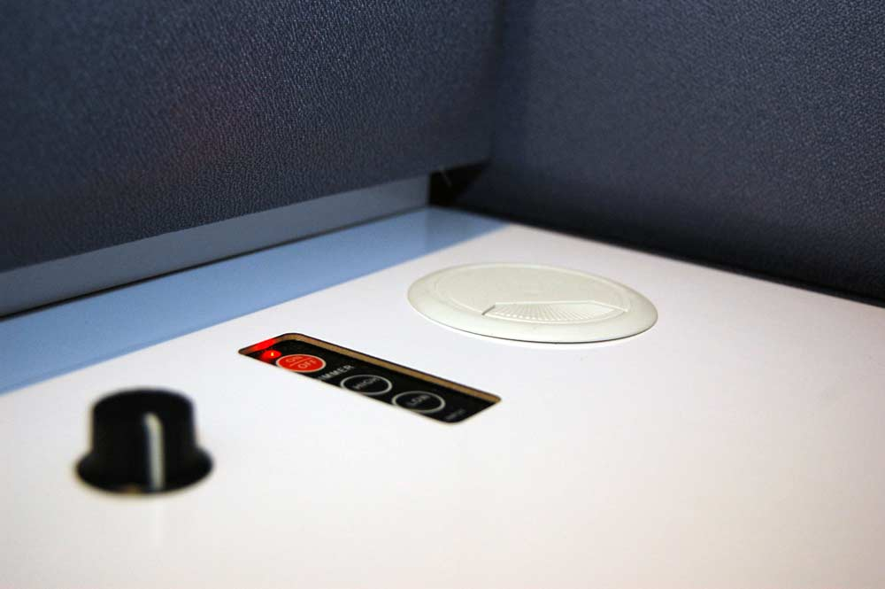 Control everything in your TalkBox booth