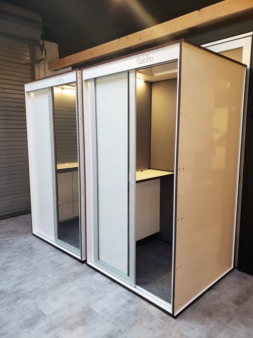 Privacy Booth Interior