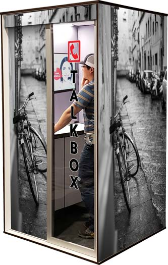 Phone Booth Graphics