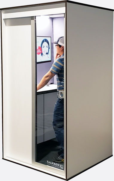 TalkBox Privacy Phone Booth