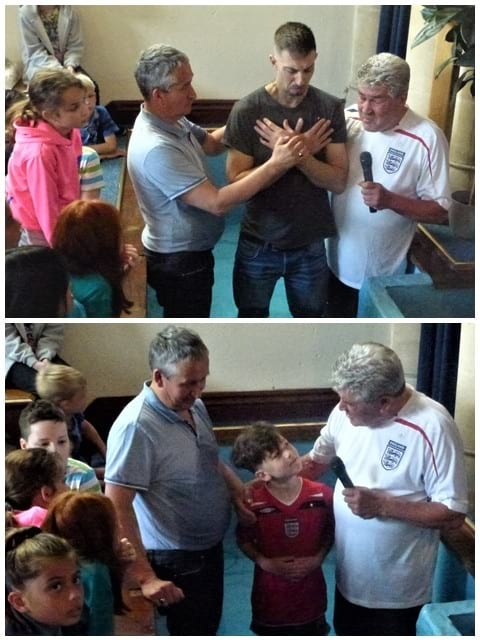 Baptisms on 10th June
