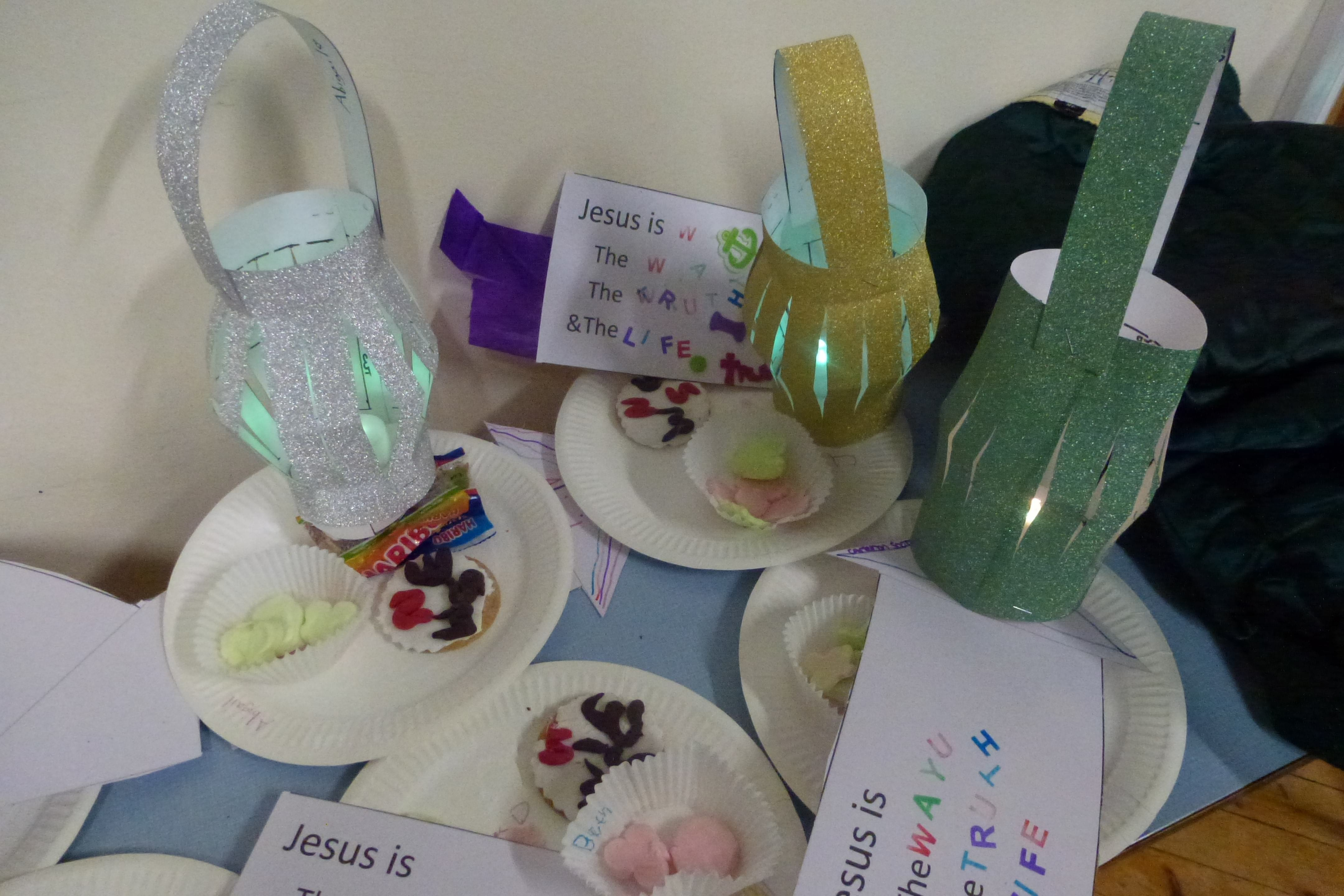 Setting out on a Journey was the theme for January's Messy Church