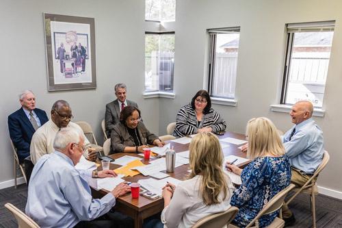 Photo of TPTCU Board Meeting