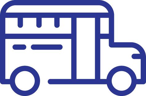 Icon of School Bus for School Bus Loans