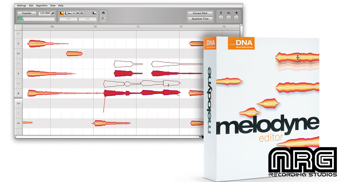 Tuning Vocals With Melodyne - NRG Recording Studios