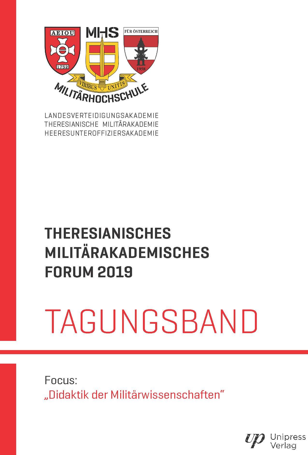 THERESIANISCHES MILITÄRAKADEMISCHES FORUM 2019
