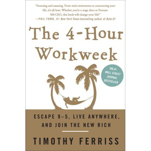 Book cover illusion: The 4-hour workweek.