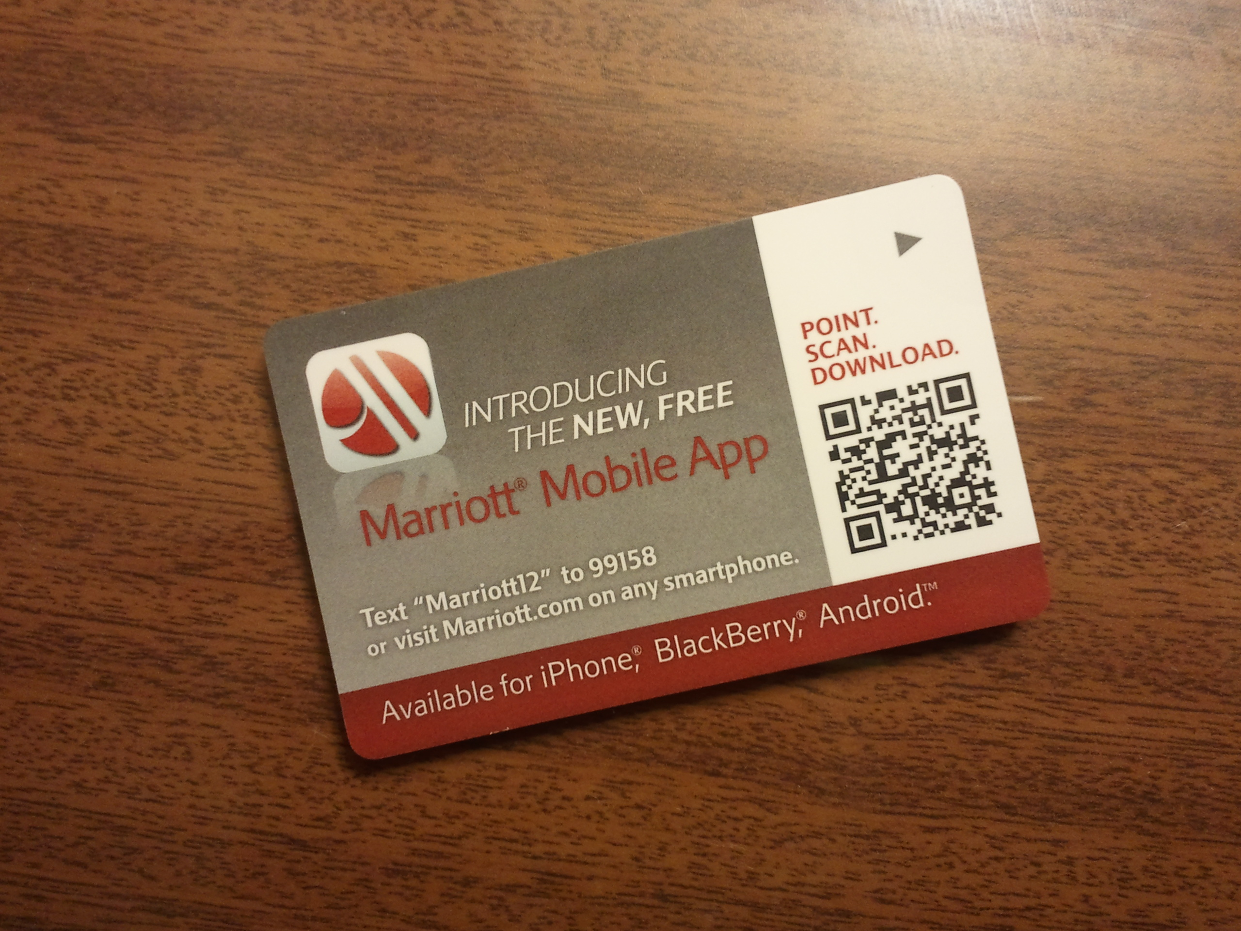 Missing Persuasion: Marriott Mobile App