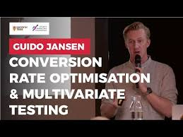 Conversion Rate Optimisation & Multivariate Testing through AI by Guido Jansen